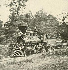 1863 Union Locomotive