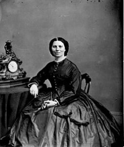 Clara Barton, 1865 by Matthew Brady