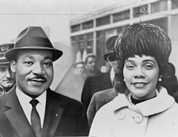 Martin Luther King Jr. and Coretta Scott King, 1964