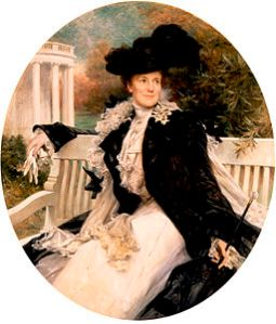 Official Portrait of First Lady Edith Roosevelt