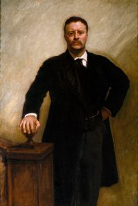 Official White House Portrait of Theodore Roosevelt