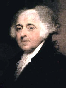 John Adams, 1823 by Gilbert Stuart