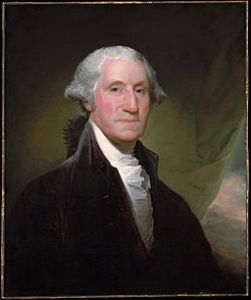 George Washington, 1795 by Gilbert Stuart