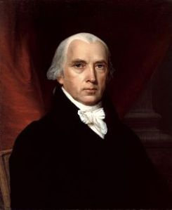 Portrait of James Madison, 1815