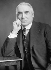 Warren G. Harding, circa 1920