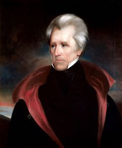 White House Portrait of Andrew Jackson
