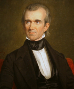 Portrait of President James K. Polk