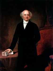 Official White House Portrait of Martin Van Buren