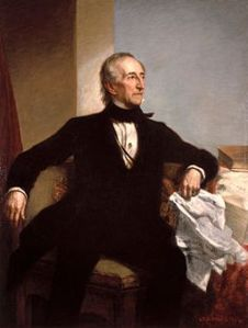 Official White House Portrait of John Tyler