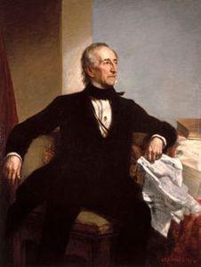 Official White House Portrait of John Tyler
