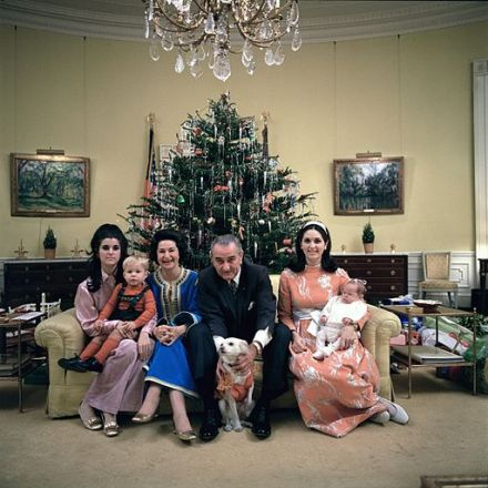 Lyndon_B._Johnson's_family_Xmas_Eve_1968